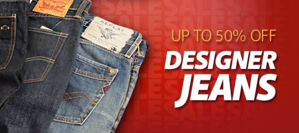 Up to 50 Percent Off Mens Designer Jeans
