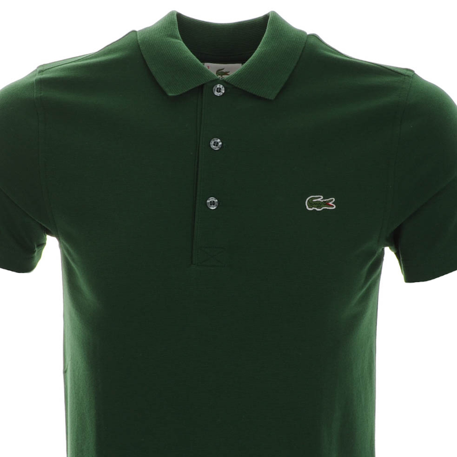 Lacoste crocodile polo t shirt black for High end golf shirts