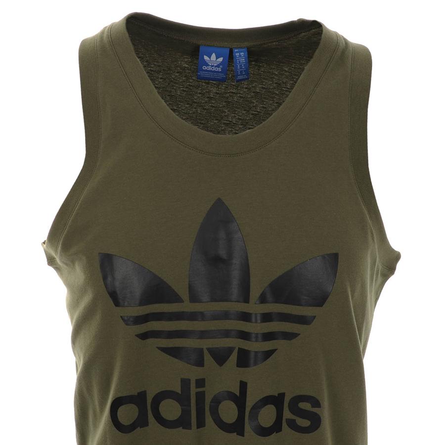 Adidas Originals Adidas Originals Trefoil Vest T Shirt ...