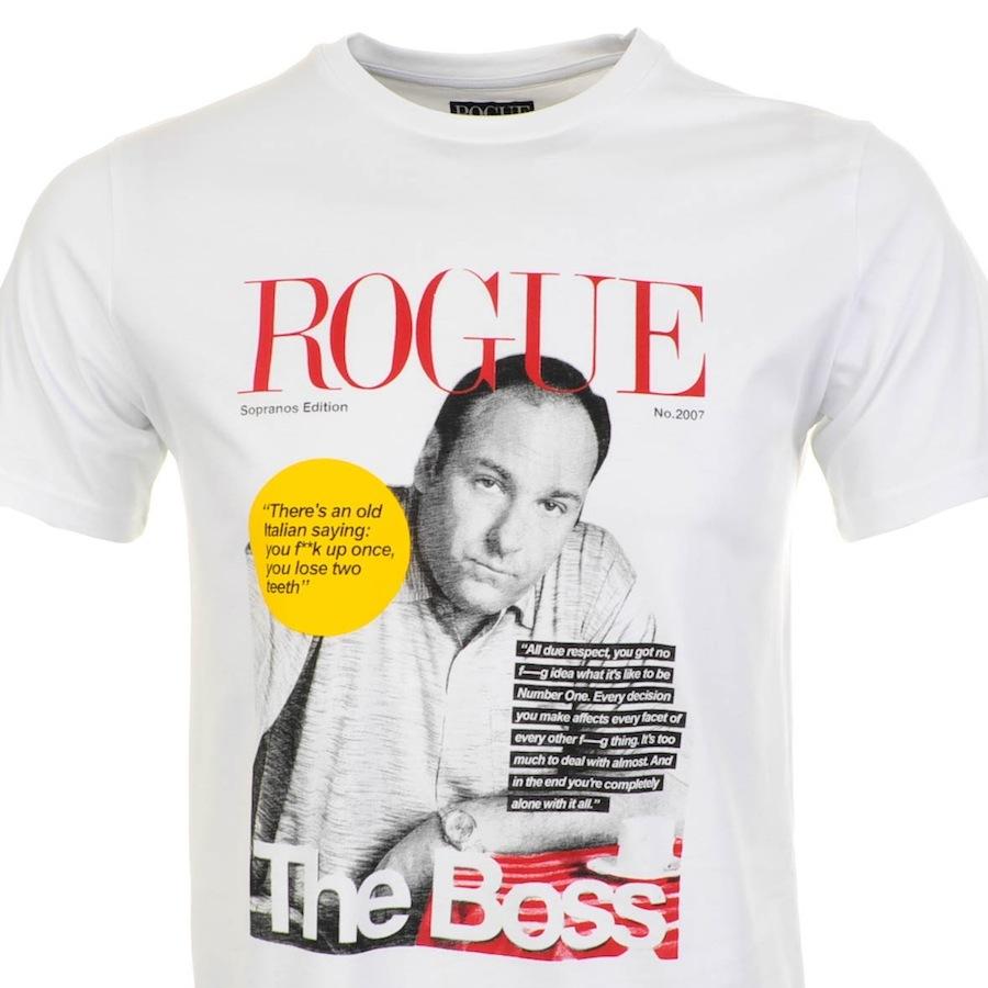 Weekend Offender Weekend Offender Rogue Tony T Shirt White