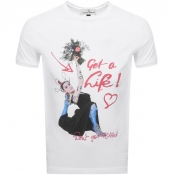 Vivienne Westwood Get A Life T Shirt White