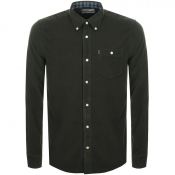 Barbour Ashwood Cord Shirt Green