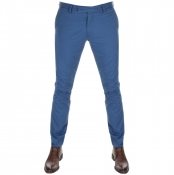 Ralph Lauren Slim Fit Chino Trousers Blue