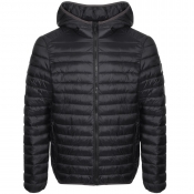 Versace Jeans Quilted Padded Jacket Black