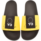 Y3 Adilette Sliders Yellow