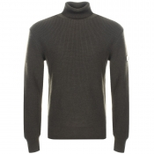 Vivienne Westwood Roll Neck Knit Jumper Green