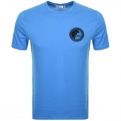 Versace Collection Medusa Logo T Shirt Blue