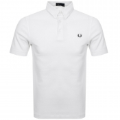 Fred Perry Short Sleeved Polo T Shirt White