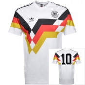 Adidas Originals Germany T Shirt White