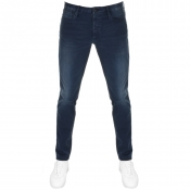 Emporio Armani J11 Skinny Fit Jeans Blue