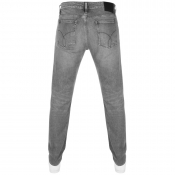 Calvin Klein Slim Straight Jeans Grey