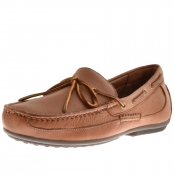 Ralph Lauren Roberts Driver Shoes Brown