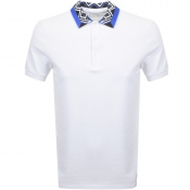 Versace Collection Pique Polo T Shirt White