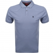 Luke 1977 Billiam Polo T Shirt Blue