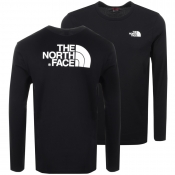 The North Face Long Sleeve Easy T Shirt Black