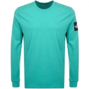 The North Face Long Sleeve Fine 2 T Shirt Green