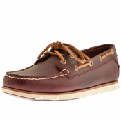 Timberland Tidelands Boat Shoes Red