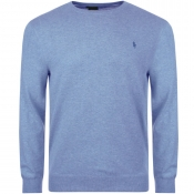 Ralph Lauren Crew Neck Knit Jumper Blue
