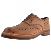 Grenson Archie Brogues Shoes Brown