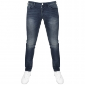 Armani Jeans J06 Slim Fit Jeans Blue