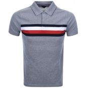 Tommy Hilfiger Oakes Polo T Shirt Navy