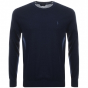 Ralph Lauren Crew Neck Jumper Navy