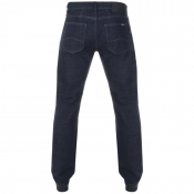 Armani Exchange J15 Relaxed Straight Jeans Blue