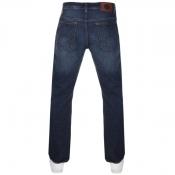 Pretty Green Burnage Regular Fit Jeans Blue