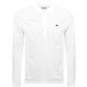 Lacoste Sport Polo T Shirt White
