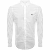 Lacoste Live Long Sleeved Shirt White