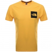 The North Face Fine T Shirt Yellow
