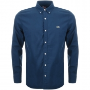 Lacoste Live Long Sleeved Shirt Blue