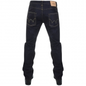 Edwin ED55 Regular Tapered Jeans Blue