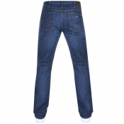 Armani Jeans J21 Regular Fit Jeans Blue