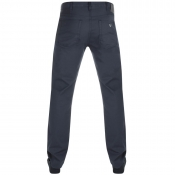 Armani Jeans J21 Regular Fit Jeans Navy