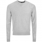 Armani Exchange Crew Neck Jumper Grey