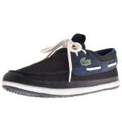 Lacoste Landsailing Deck Shoes Navy