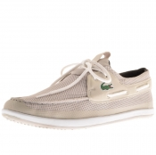 Lacoste Landsailing Deck Shoes Grey