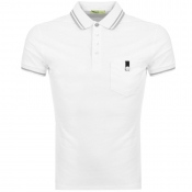 Versace Jeans Pocket Polo T Shirt White