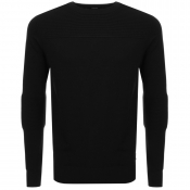 Diesel K Gee Jumper in Black