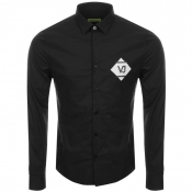 Versace Jeans Long Sleeved Shirt Black