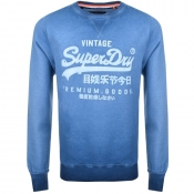 Superdry Premium Goods Crew Neck Jumper Navy