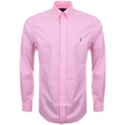 Ralph Lauren Long Sleeved Slim Fit Shirt Pink