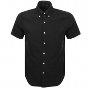 Ralph Lauren Short Sleeved Custom Fit Shirt Black