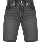 Levis Original Fit 501 Denim Shorts Black
