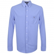 Gant Long Sleeved Tech Prep Shirt Blue