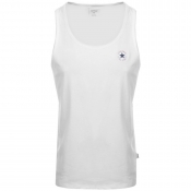 Converse All Star Core Logo Vest T Shirt White