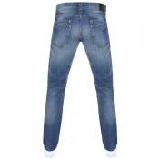 Replay Newbill Comfort Fit Jeans Blue