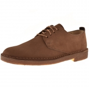 Clarks Originals Desert London Shoes Brown