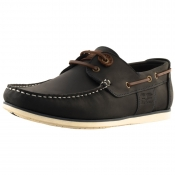 Barbour Capstan Deck Shoes Blue